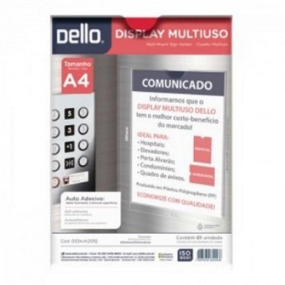 QUADRO AVISO MULTIUSO A4 CRISTAL 0534.H.0012