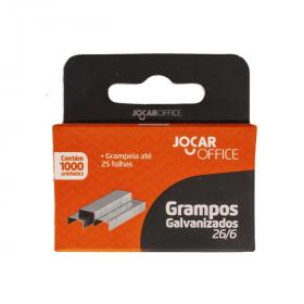 GRAMPO GALVANIZADO 26/6 C/1000 JOCAR 93011