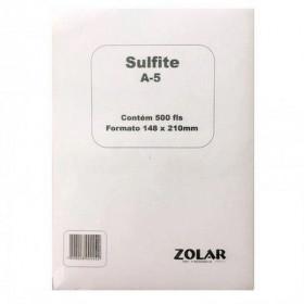 PAPEL SULFITE A5 210X148,5 75G