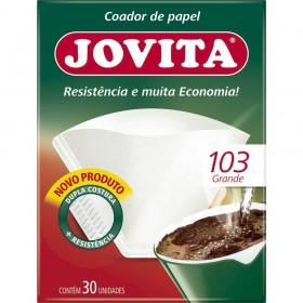 FILTRO DE PAPEL JOVITA/BRIGITTA 103 (EM C/30 UN)