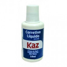 CORRETIVO LIQUIDO 18ML BASE AGUA KZ198