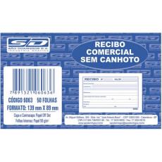 RECIBO COMERCIAL S/CANHOTO 50FL 1076 (EM C/2 BL)